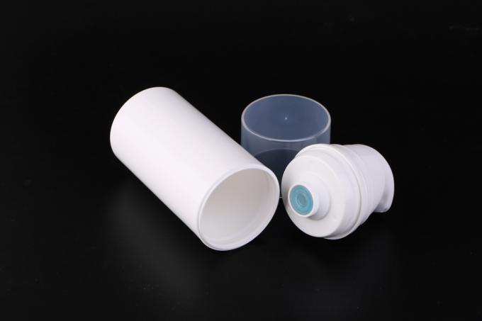 Plastic Airless Pump Bottles For Cosmetics 100ml 200ml Empty Foundation Bottle With Pump