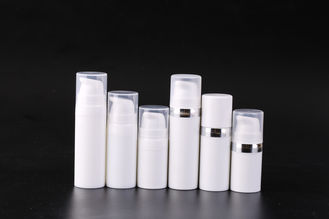 China Plastic Airless Pump Bottles Cosmetic / Colorful Pump Dispenser Bottle supplier
