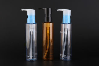 Makeup Oil Cosmetic Makeup Remover Bottle With Back Suction Match The 150ml PET Bottle