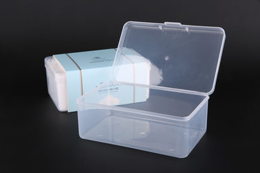 Clear PP Packing Box For Makeup Remover Cotton Pads , 173*110*70cm UKOB13