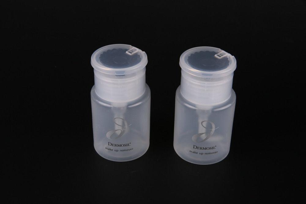Cleansing Nail Polish Remover Pump Bottle Hdpe 90ml Nail