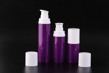 China Smooth Or Frost Airless Pump Bottles With Silk Screening 50ml-75ml-120ml UKA17 factory