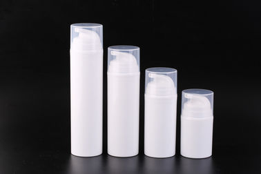 China White Color Plastic 100ml Mask Airless Pump Bottles 200ml Airless Pump Dispenser  factory