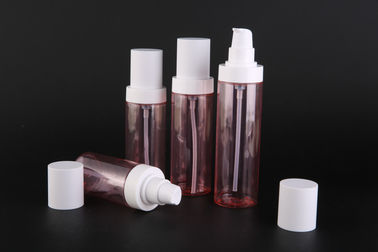 China UKLB38 Plastic PET Cosmetic Pump Bottle For Skin Care , Empty Plastic Bottles factory